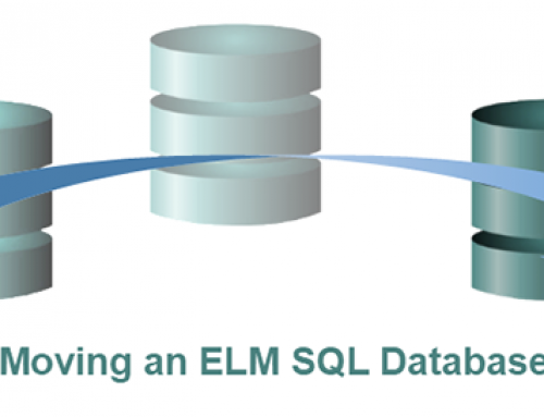 How to Move an ELM SQL Database
